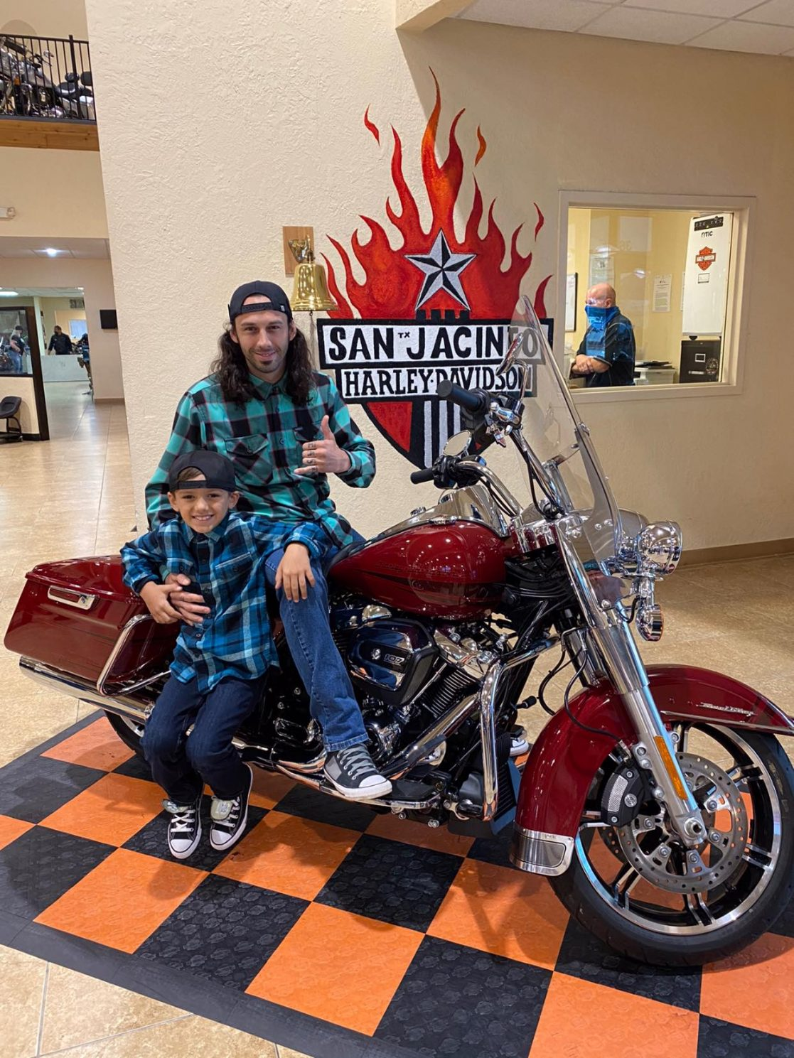 MEET THE WINNER OF THE 5TH ANNUAL WOWC RAFFLE MOTORCYCLE ~ KOBIE LOUVIERE!!